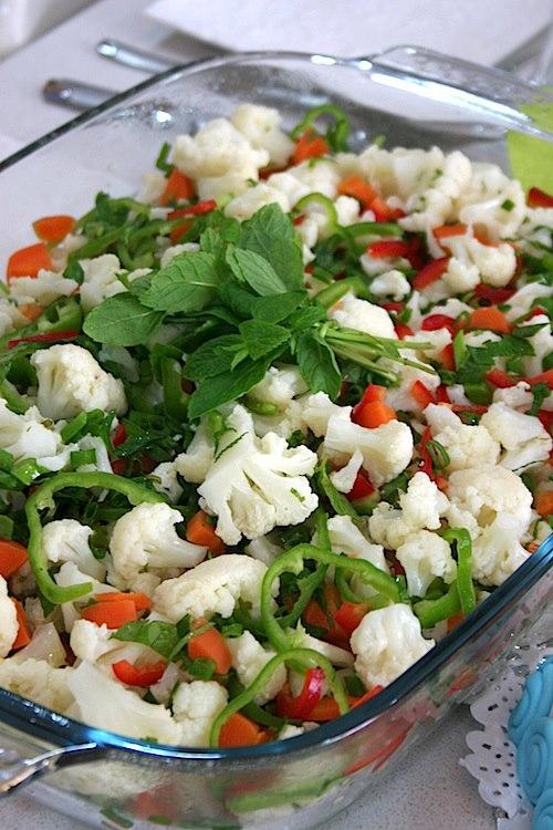Karnabahar-Salatası