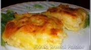 Firinda Kremali Patates