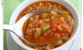Bulgurlu Yaz Çorbası