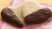 Çikolatalı Kalp Kurabiye