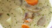 Kremalı Sebzeli Mantar Çorbası