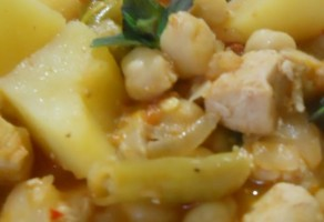 Nohutlu Patates Yemeği