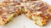 Közlenmiş Biberli Patates Omleti