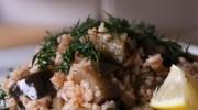 Zeytinyağlı Patlıcanlı Pilav